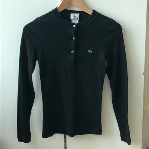 Lacoste long sleeve button-up